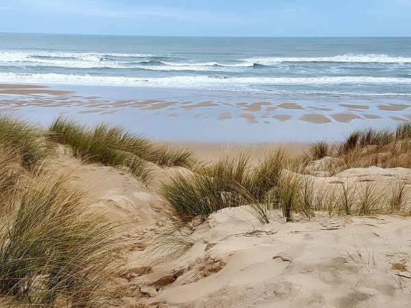 Les immenses plages de la côte sauvage